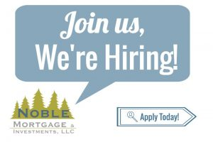 Join our team; We're hiring!